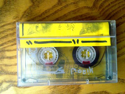 MY PORTABLE DOUBLESIDED TWENTYMINUTESTEREO MIAOW TAPE
